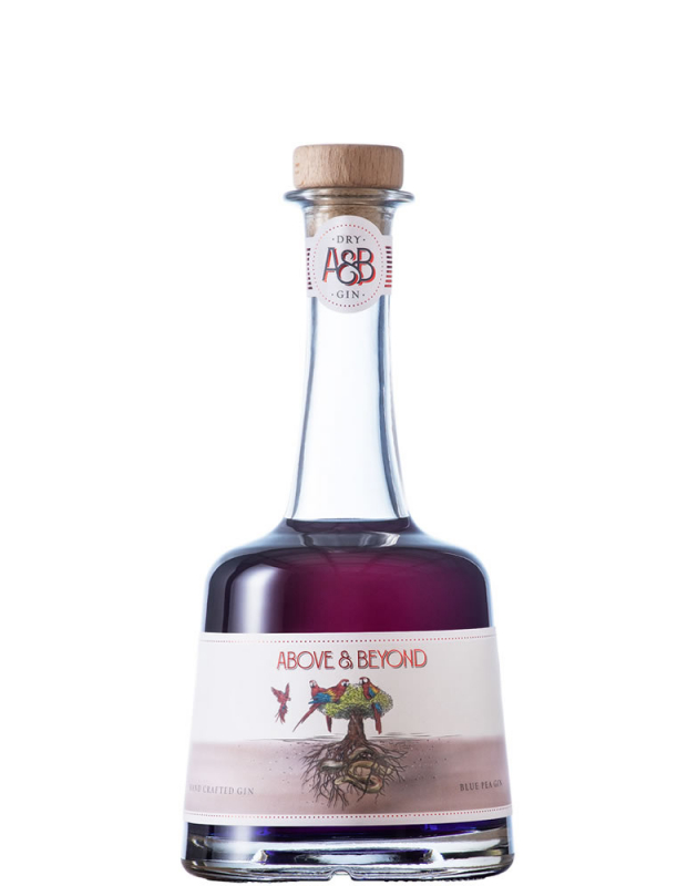 Above & Beyond Blue Pea Gin